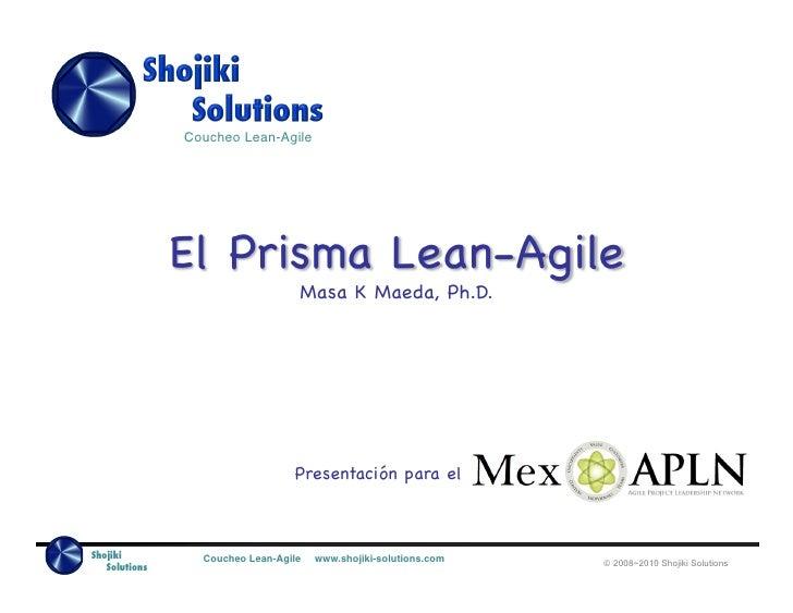 El Prisma Lean - Agile