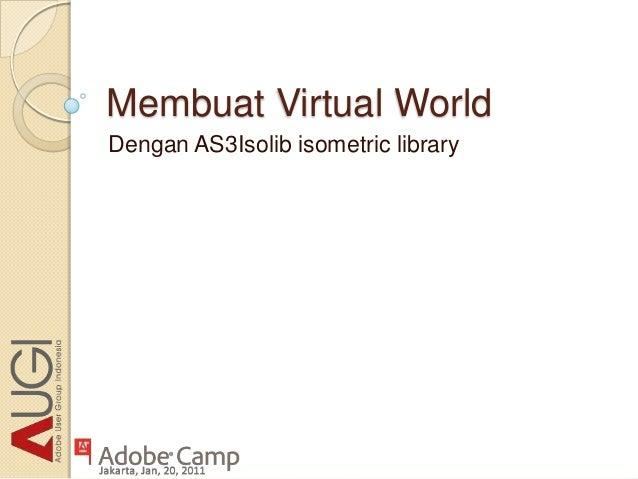 Membuat Virtual WorldDengan AS3Isolib isometric library