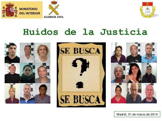 LOS MÁS BUSCADOS | GUARDIA CIVIL