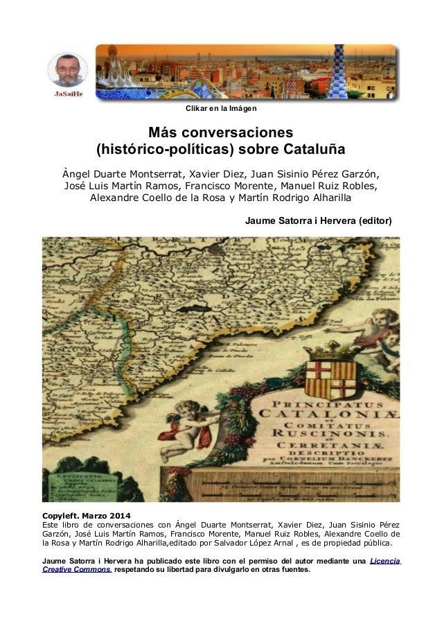 Mas conversaciones historico politicas sobre catalunya