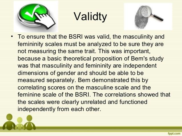 femininity test