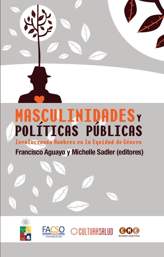 Masculinidades y politicas publicas