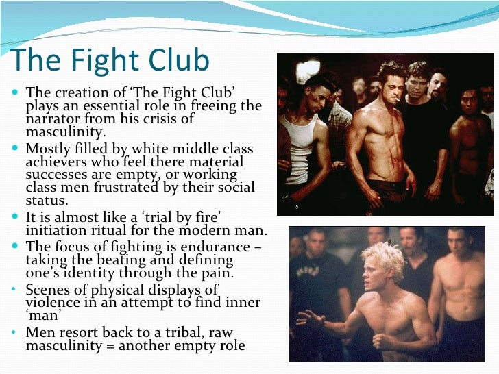 Essays on fight club