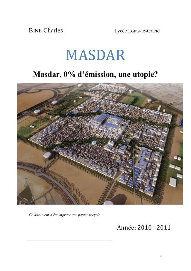 1   BINE Charles Lycée Louis-le-Grand MASDAR   Masda...