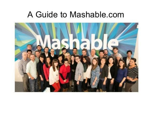 CGT 106 Mashable Presentation