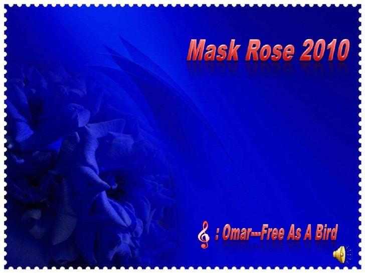 Mask rose 2010
