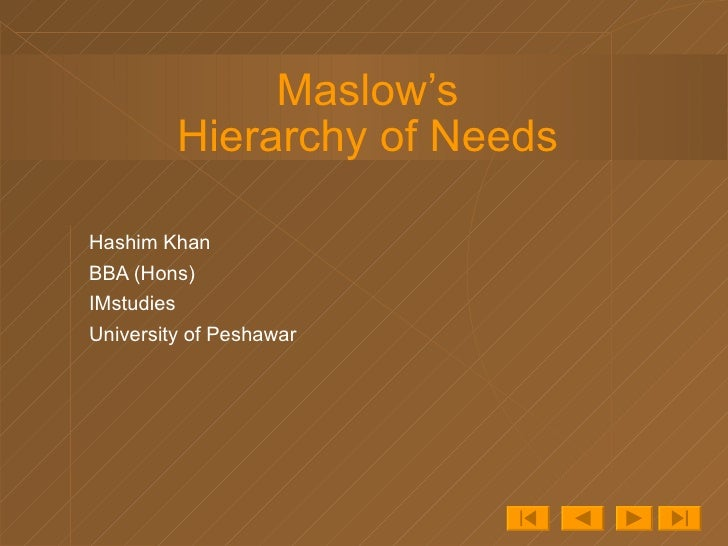 Maslow