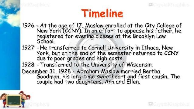 Dissertation maslow