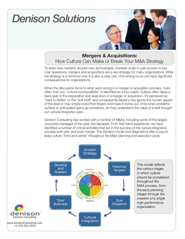 Mergers & Acquisitions: How Organizational Culture Can Make or Break Your M&A Strategy