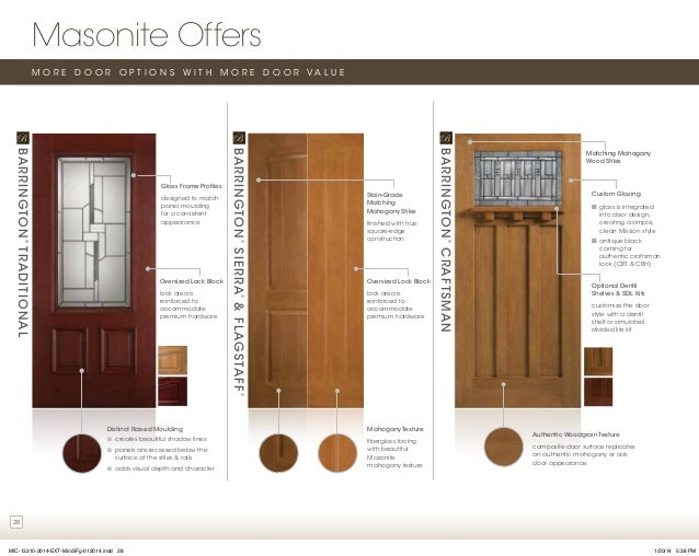 Masonite door catalog for Door design catalog