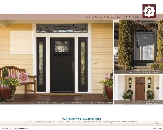 Masonite Exterior Door Catalog Choice Image - doors design modern