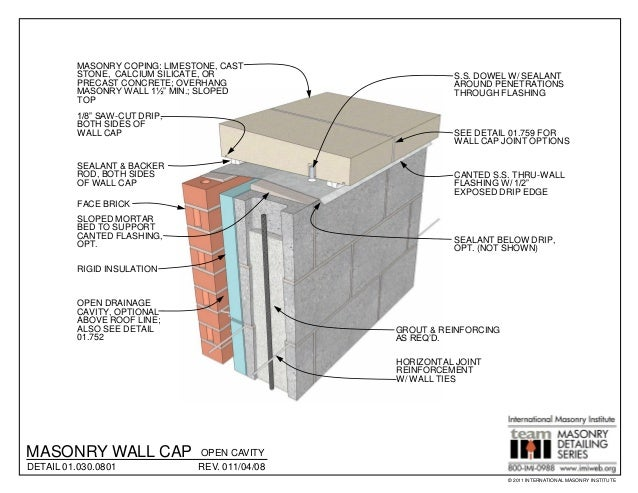 masonry detailing series v34 retaining wall design - Masonry Retaining Wall Design