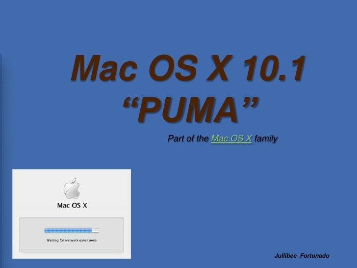 Mas Os X 10.1 Puma