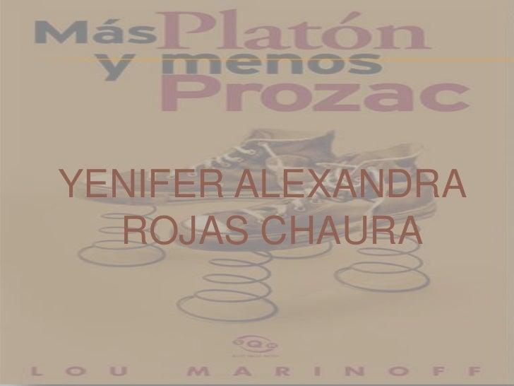 YENIFER ALEXANDRA ROJAS CHAURA <br />