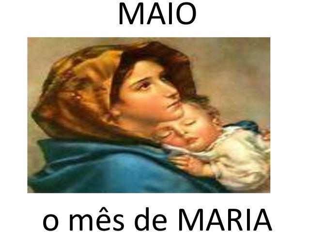 MAIO o mês de MARIA