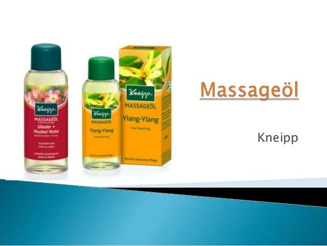 Massageol kneipp