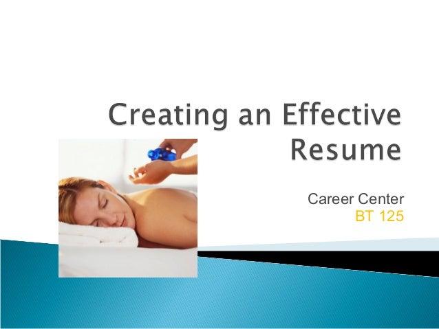 Career CenterBT 125