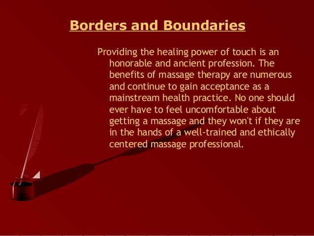 the healing power of massage therapy and its ancient history