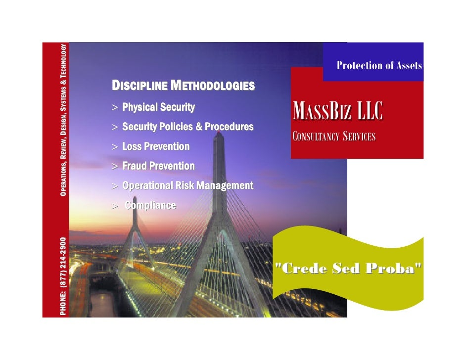 Massbiz Consulting Crede Sed Proba