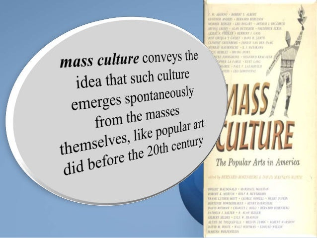 Mass society thesis