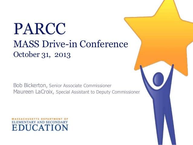 Mass drive in_PARCC_presentation_10.31.13