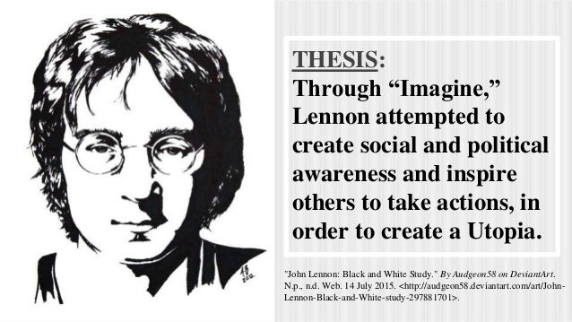 thesis on john lennon