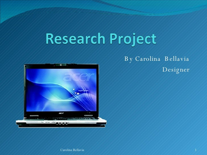 Massive Research Project Presentation