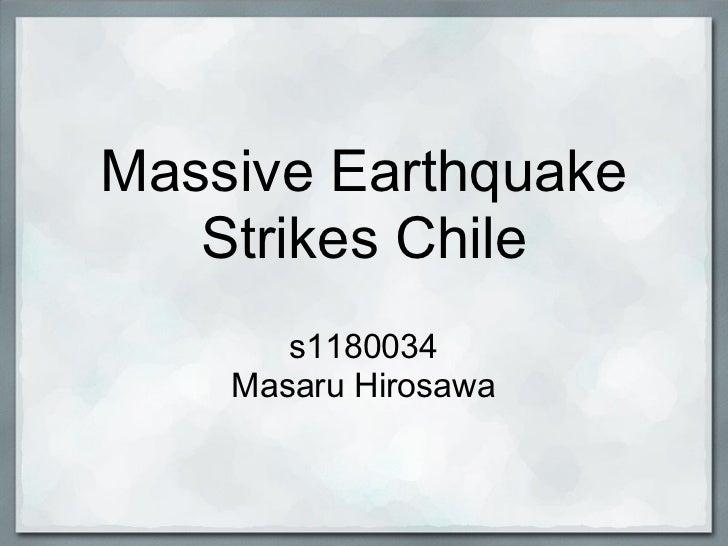 Massive earthquake strikes_chile