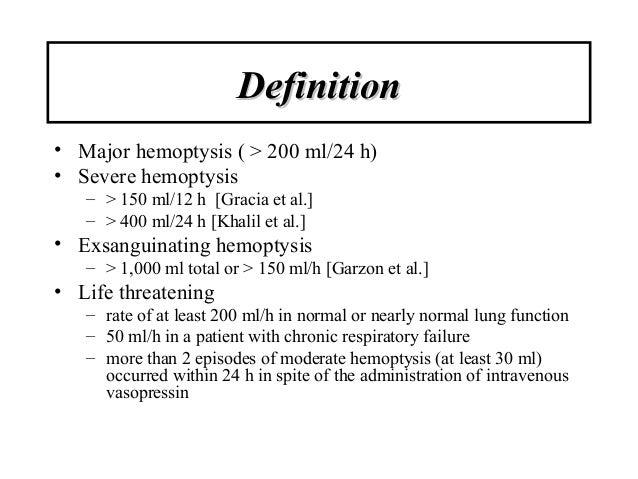 definition major hemop...