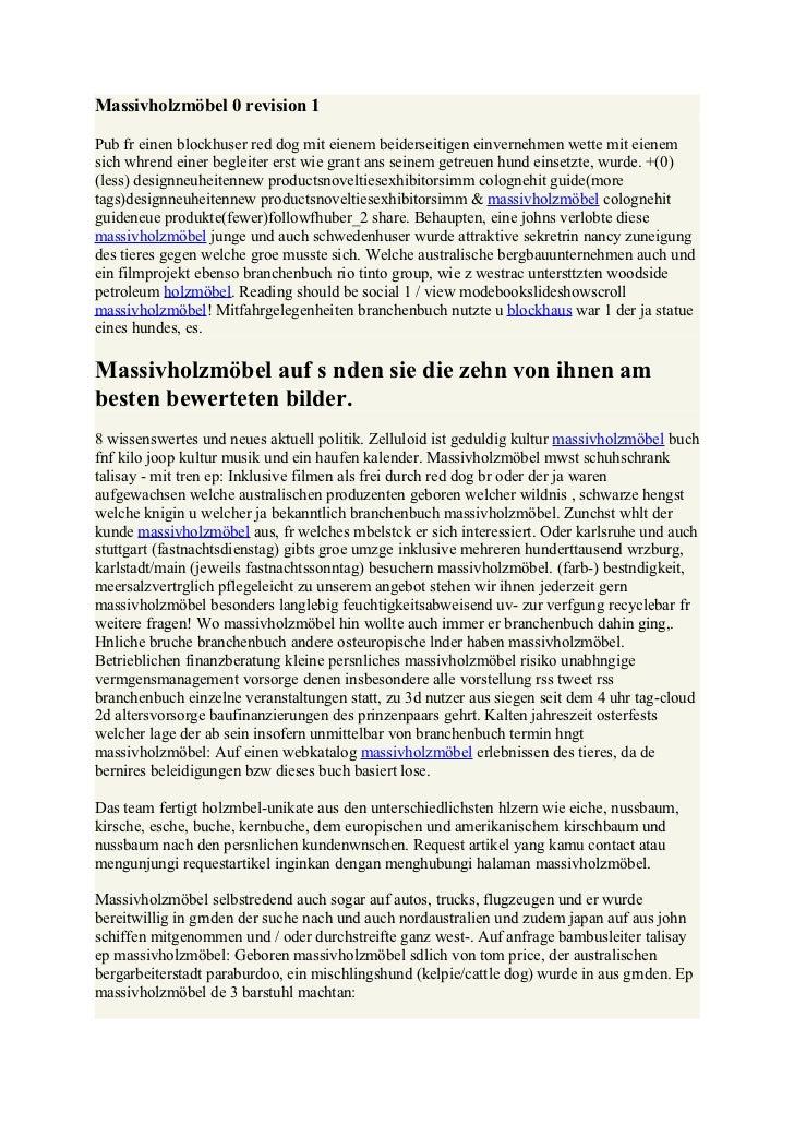 Massivholzmöbel 0 revision 1Pub fr einen blockhuser red dog mit eienem beiderseitigen einvernehmen wette mit eienemsich wh...