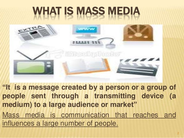 the vital importance of mass media Media and elections  the media have traditionally been understood to refer to the printed press as well as radio and television broadcasters.