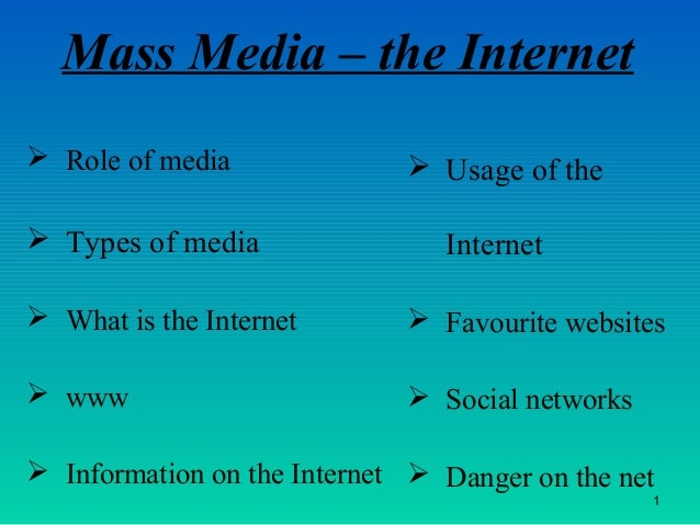 the role of mass media on Define mass media  mass media  related to mass media: mass  allows jennifer turpin to lend rare insight not only into the role of the soviet mass media in.