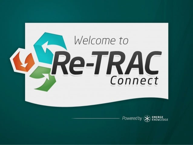 Welcome to Re-Trac Connect!
