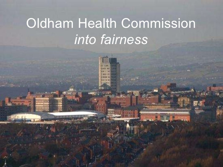 Oldham Health Commission into fairness