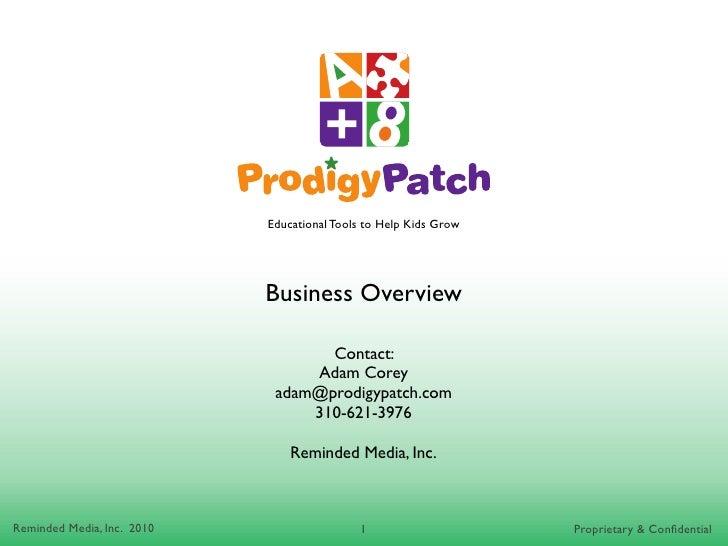 ProdigyPatch