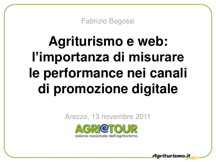 Agriturismo e web: misurare i canali di promozione digitale