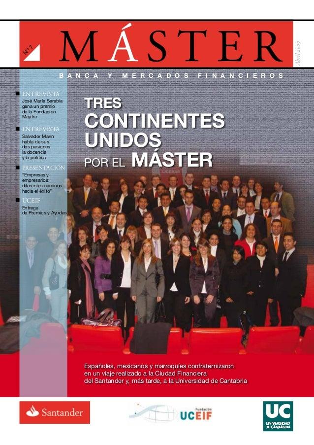 Revista Master en Banca. Número 7