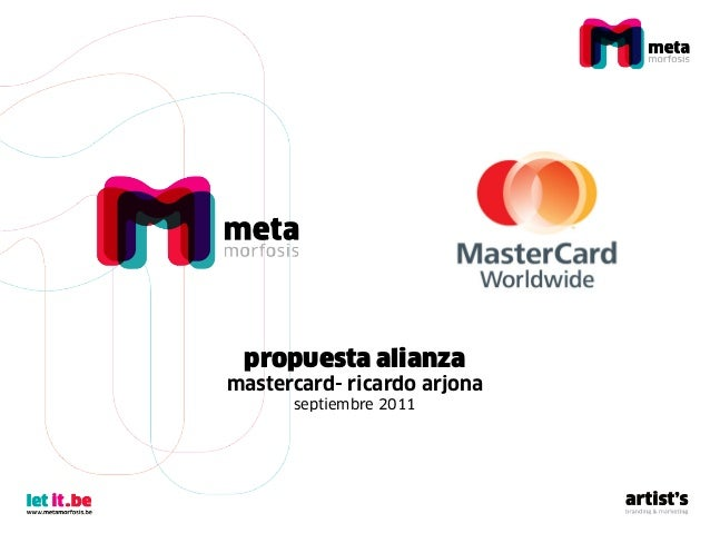 Mastercard   ricardo arjona