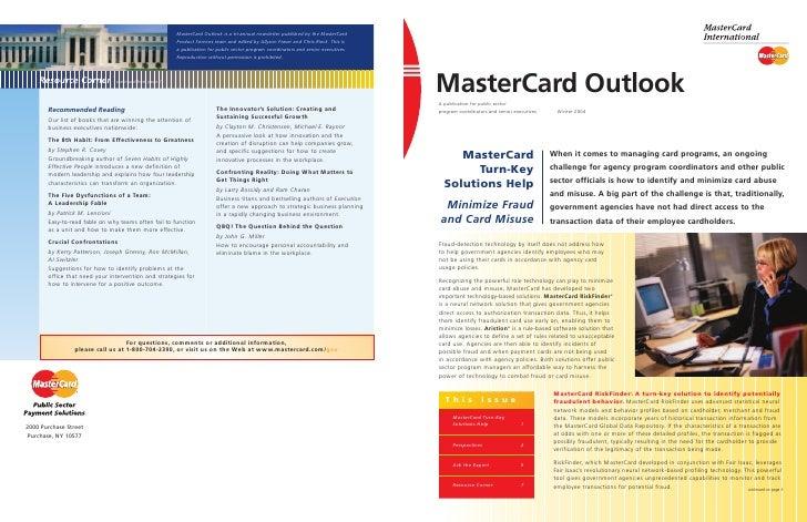Master card 1