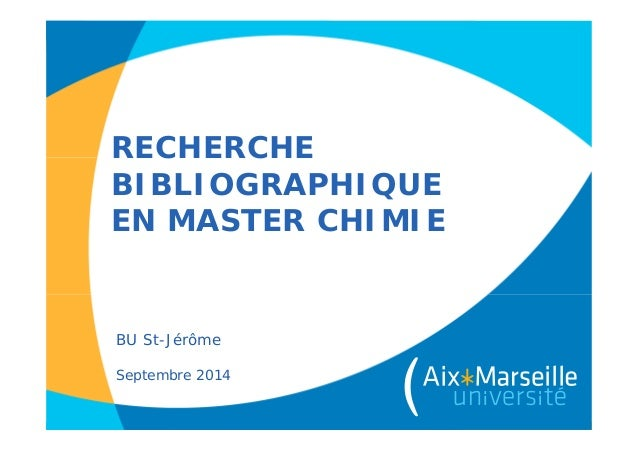 Master chimie 2014