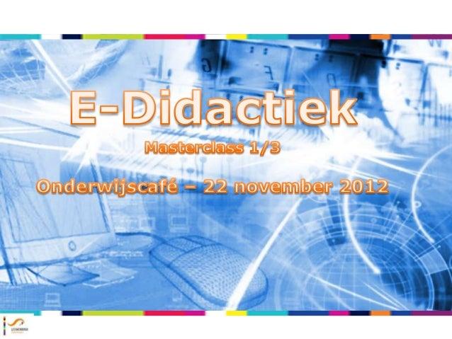 E-didactiek