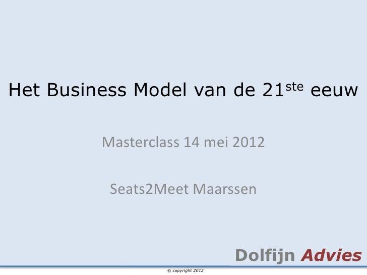Masterclass bizz21 2012 02-13 - slideshare