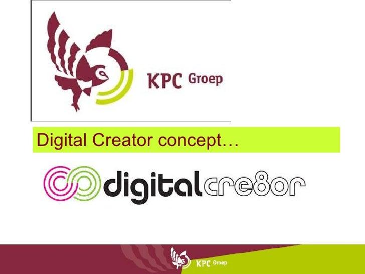 Digital Creator concept…