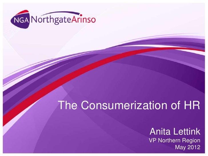 Masterclass HR Consumerization
