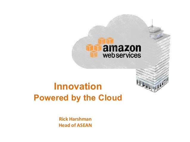 Innovation Powered by the Cloud Rick  Harshman   Head  of  ASEAN