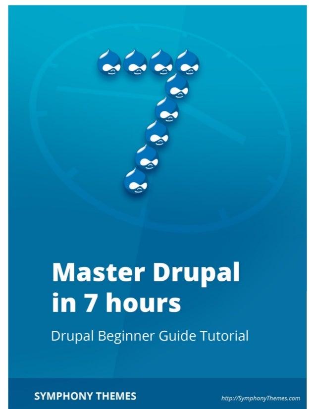 Master drupal in 7 hours v1.1