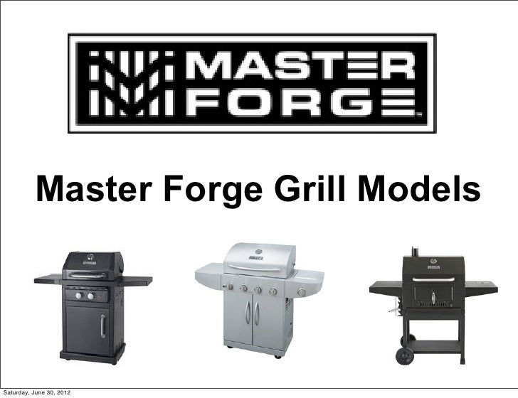 Master Forge Grill ModelsSaturday, June 30, 2012