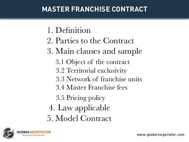 Franchise Agreements | Legal Document Templates For U2026