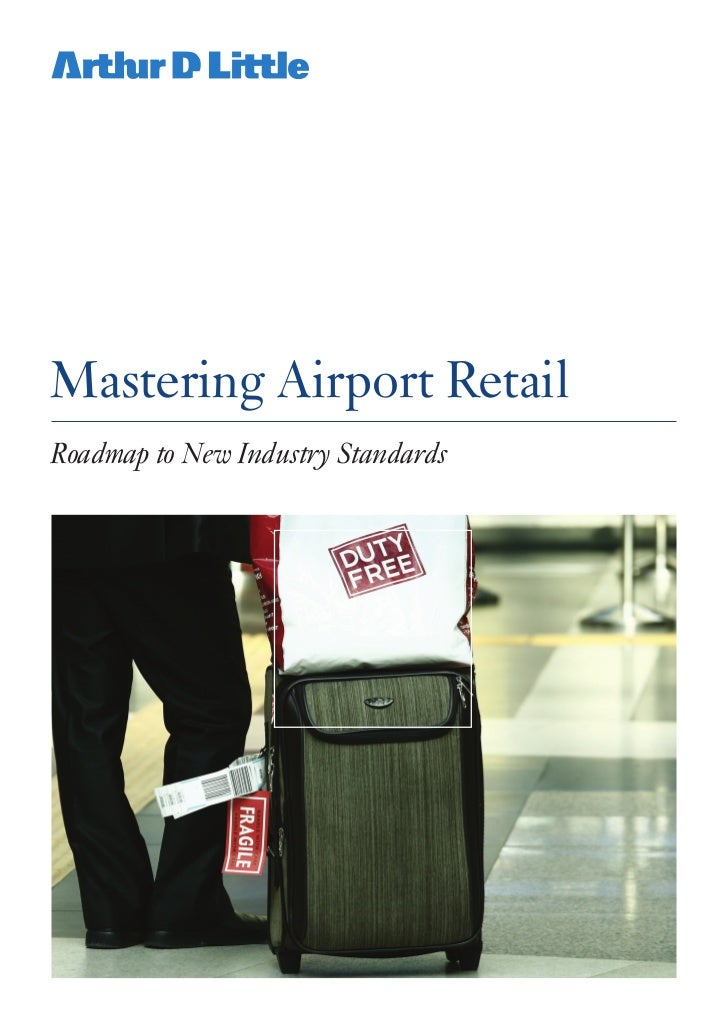 Mastering airport retail
