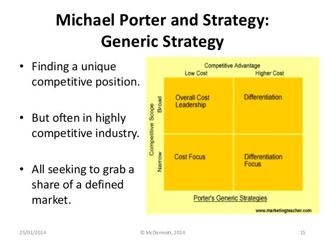 mcdonalds overall cost leadership strategy